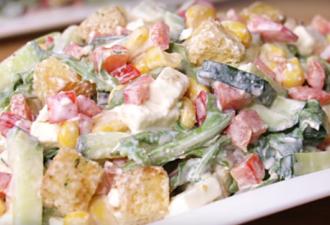 Очаровательный салат — исчезает со стола в считанные минуты