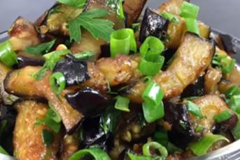 Хит сезона — Отличная закуска из баклажанов всего за 10 минут!