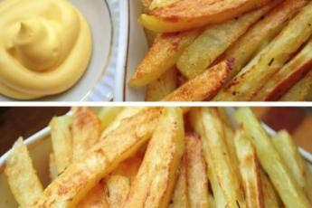 Картошка «почти фри» без вреда для детей и взрослых- мой вариант приготовления