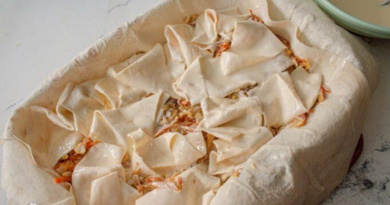Готовлю пирог с капустой новым способом, без теста: вся родня, кто видел, теперь делает также